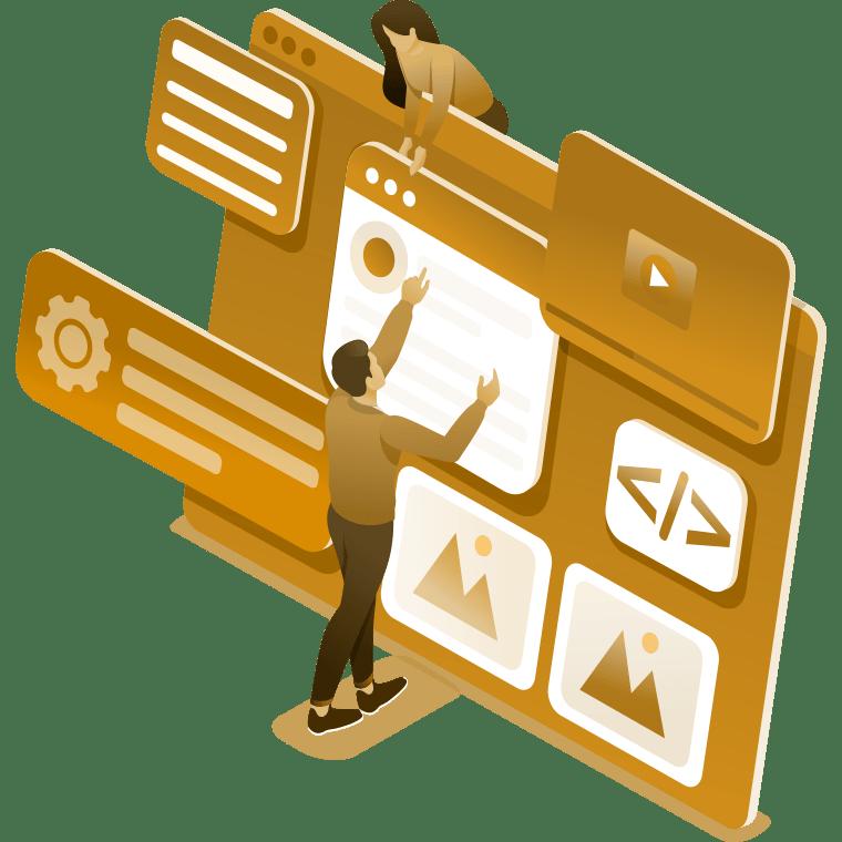 Moderne Website, optimiert für mobile Endgeräte und Suchmaschinen - Kontor der Ideen, Linz